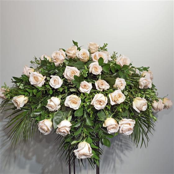 Casket Spray - Classical Tribute of Roses